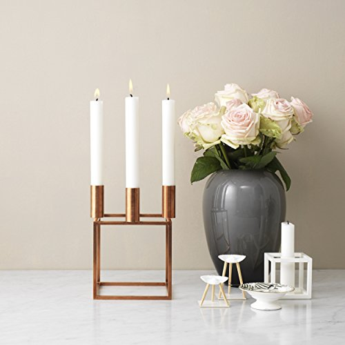 kubus 1 kerzenst nder wei 7 x 7 cm h 7 cm online kaufen. Black Bedroom Furniture Sets. Home Design Ideas