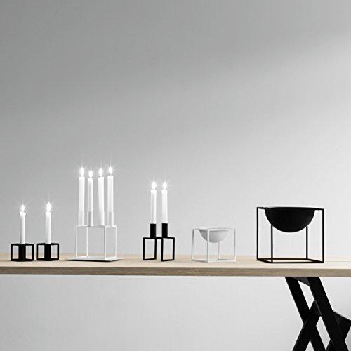 kubus 4 kerzenst nder schwarz 14 x 14 cm h 20 cm online. Black Bedroom Furniture Sets. Home Design Ideas