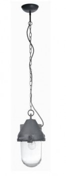 Madam-Stoltz-Hngelampe-Pendelleuchte-Aluminium-Glasschirm-grau-0
