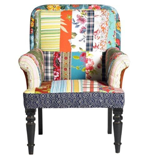 nordal patchwork sessel arm chair online kaufen bei woonio. Black Bedroom Furniture Sets. Home Design Ideas