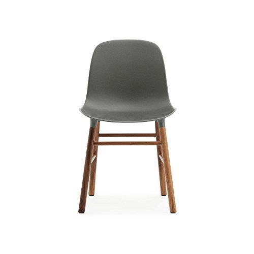 normann form stuhl gestell walnuss grau gestell walnuss online kaufen bei woonio. Black Bedroom Furniture Sets. Home Design Ideas