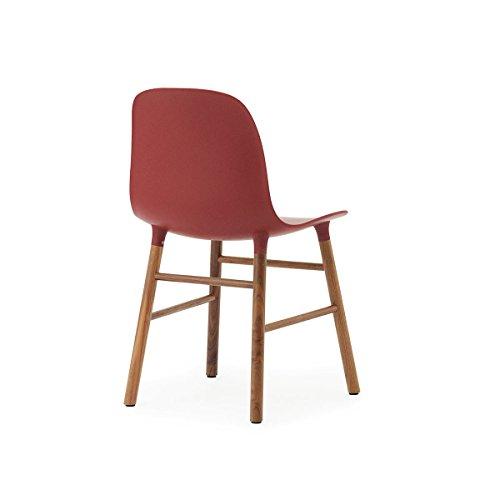 normann form stuhl gestell walnuss rot gestell walnuss online kaufen bei woonio. Black Bedroom Furniture Sets. Home Design Ideas
