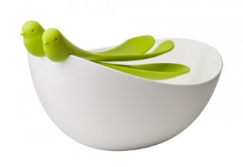Qualy-9984-Salatschssel-inklusiv-Salatbesteck-Sparrow-weigrn-235-x-30-x-156-cm-0