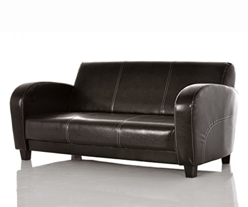 sofa vernice 195x95 cm antik braun n hte beige 3 sitzer online kaufen bei woonio. Black Bedroom Furniture Sets. Home Design Ideas