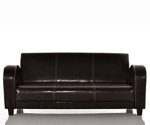 Sofa-Vernice-195x95-cm-Antik-Braun-Nhte-Beige-3-Sitzer-0