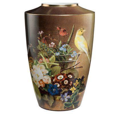Vase-Stillleben-mit-Kanarienvogel-Gre-18-cm-H-0