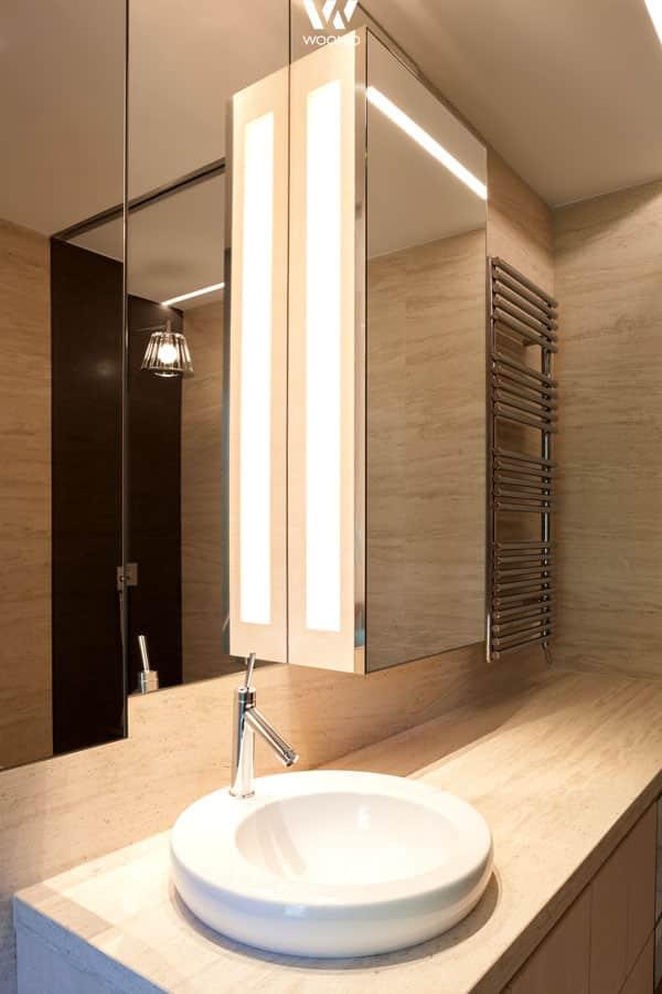 Steinwande Badezimmer Perfekt : Die indirekte beleuchtung ist perfekt ausgerichtet