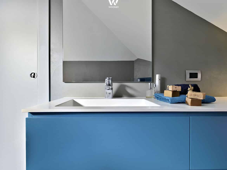 Badezimmer blau grau – midir