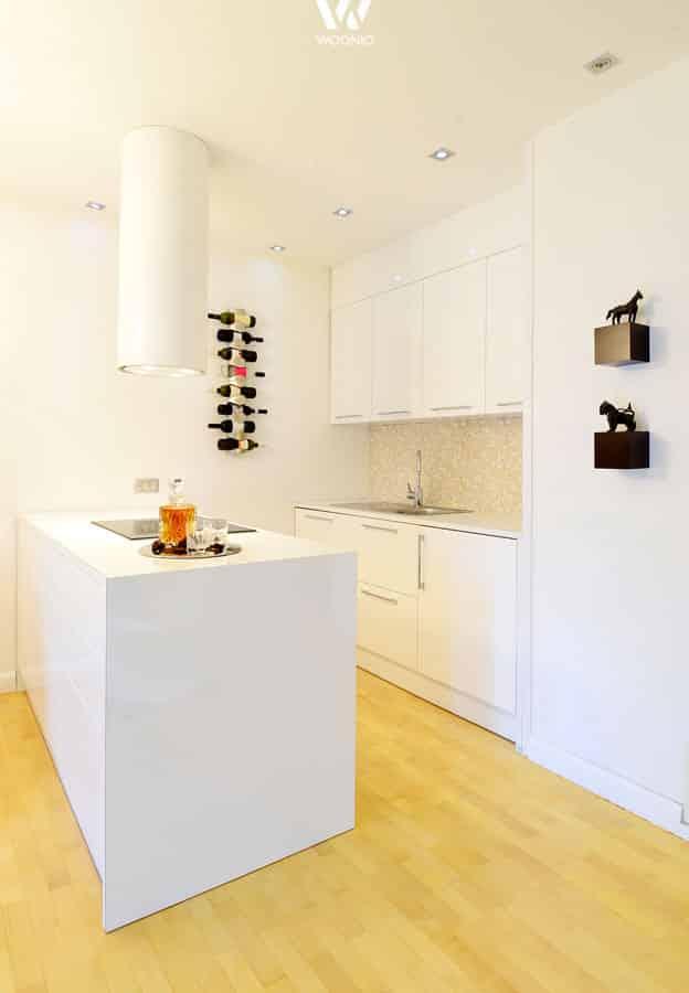 kleine k che aber oho wohnidee by woonio. Black Bedroom Furniture Sets. Home Design Ideas