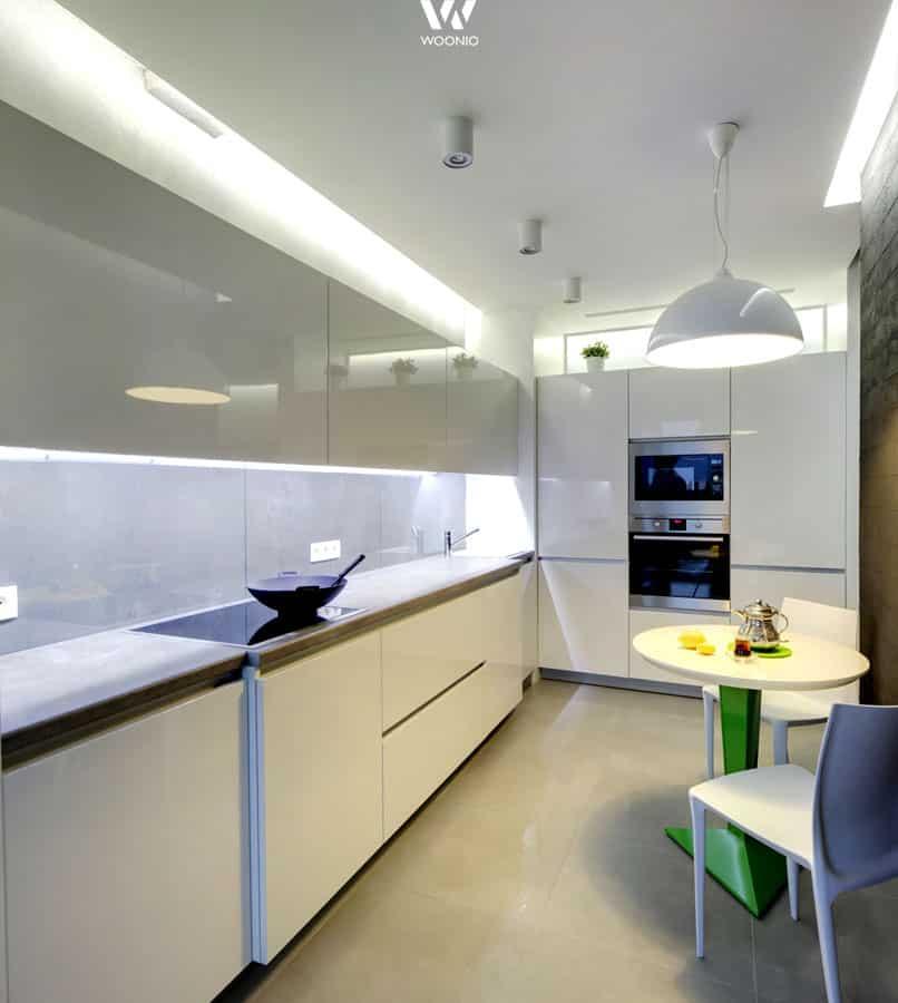 das beleuchtungskonzept f r die k che sollte schon bei der planung bedacht werden wohnidee by. Black Bedroom Furniture Sets. Home Design Ideas