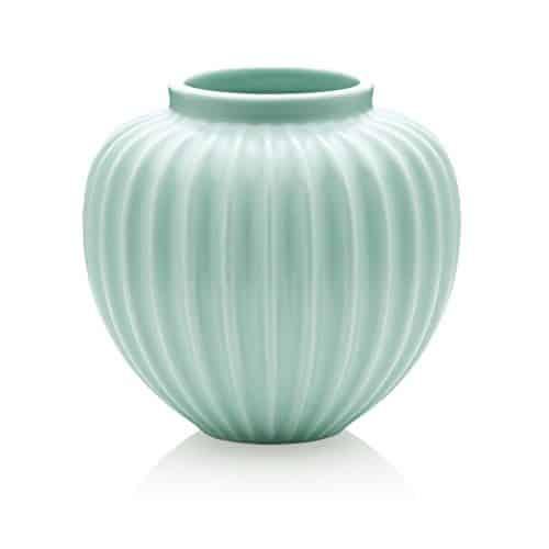 Lucie-Kaas-Vase-medium-Keramik-Mint-Grn-H17-cm-0
