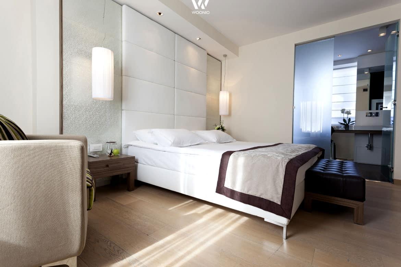 Naturtöne im Schlafzimmer wirken beruhigend und können leicht mit