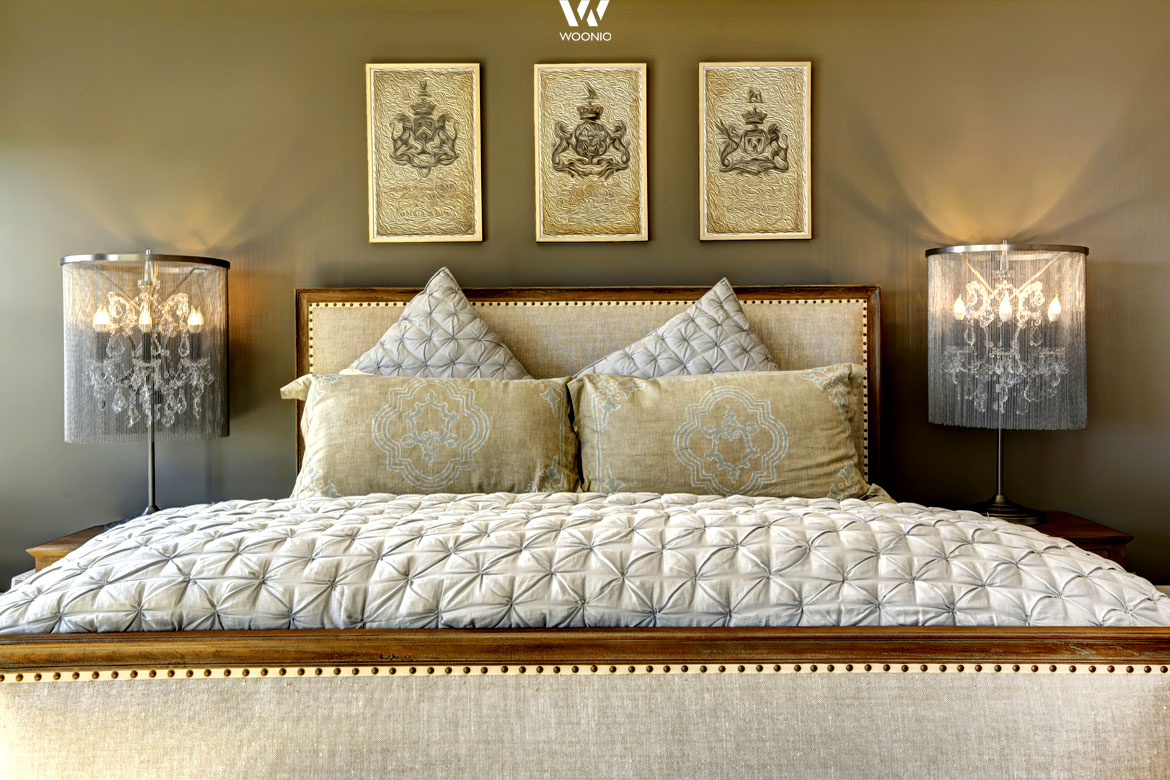 der orientalische stil im schlafzimmer wohnidee by woonio. Black Bedroom Furniture Sets. Home Design Ideas