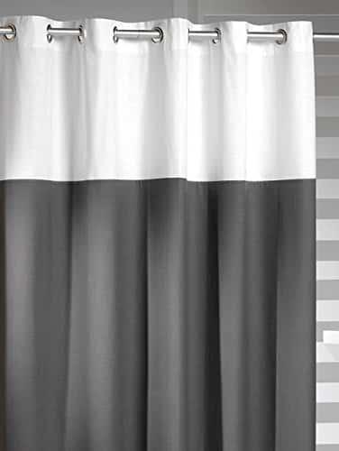 Hookless Shower Curtain Sealskin Doppio Gray Online Kaufen Bei WOONIO