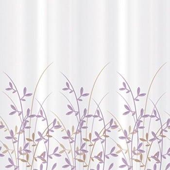 Tatkraft-Duschvorhang-Badezimmer-wasserabweisendes-Material-Textil-Polyester-12-Vorhangringe-Ovale-180x180-cm-Immanuel-Olive-0