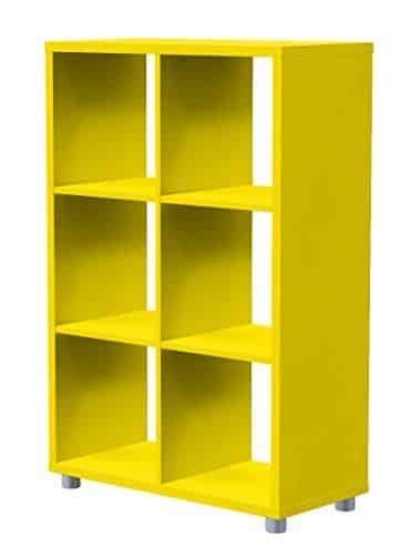 Tenzo-1826-002-Box-Designer-Raumteiler-2x-3-111-x-73-x-35-cm-Spanplatte-lackiert-matt-gelb-0