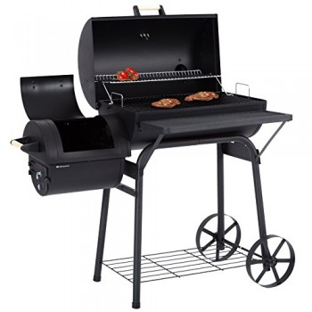 Ultranatura-Smoker-Grill-Denver-2-Brennkammern-127-x-70-x-133-cm-0