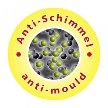 Wenko-20044100-Anti-Schimmel-Duschvorhang-Uni-Grey-Anti-Bakteriell-waschbar-mit-12-Duschvorhangringen-Kunststoff-Polyester-cm-Grau-0-0