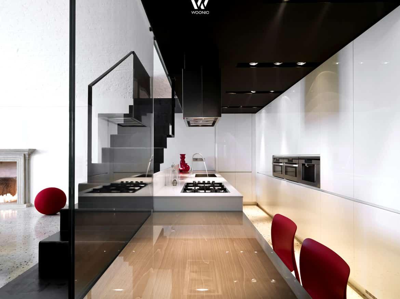von der k che direkt auf den esstisch so einfach und schnell kanns gehen wohnidee by woonio. Black Bedroom Furniture Sets. Home Design Ideas