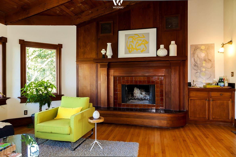 Rustikale Wohnwände Von Früher Lassen Sich Auch Mit Modernen Farben