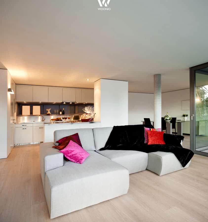 wenn das sofa wegen platzmangel kleiner ausf llt sollte es zumindest so gem tlich wie dieses. Black Bedroom Furniture Sets. Home Design Ideas