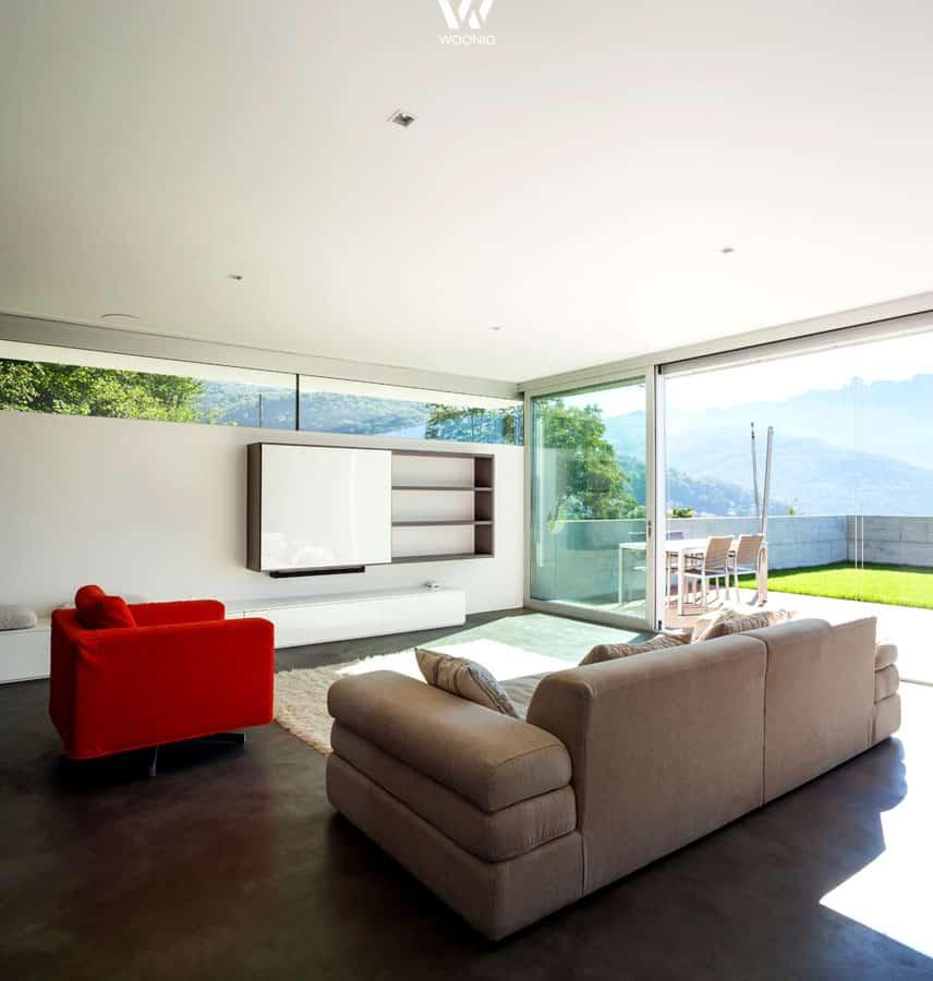 gem tliches und schlichtes wohnzimmer im zeitlosen stil wohnidee by woonio. Black Bedroom Furniture Sets. Home Design Ideas