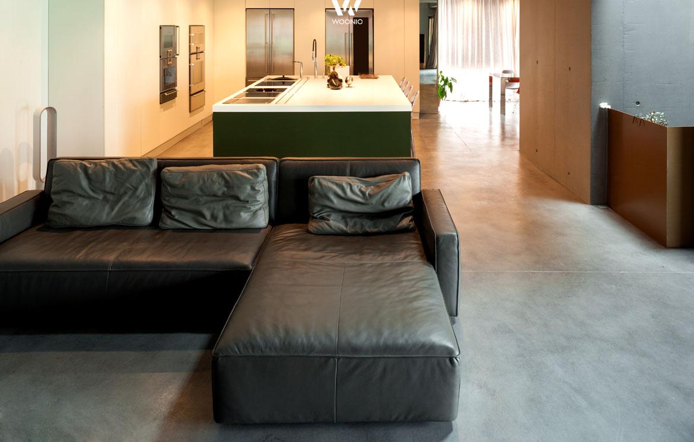 auch wenn die couch brandneu ist macht der used style einiges her wohnidee by woonio