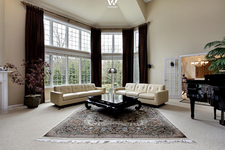 perserteppiche sind nach wie vor echte hingucker in einem klassischen wohnzimmer wohnidee by. Black Bedroom Furniture Sets. Home Design Ideas