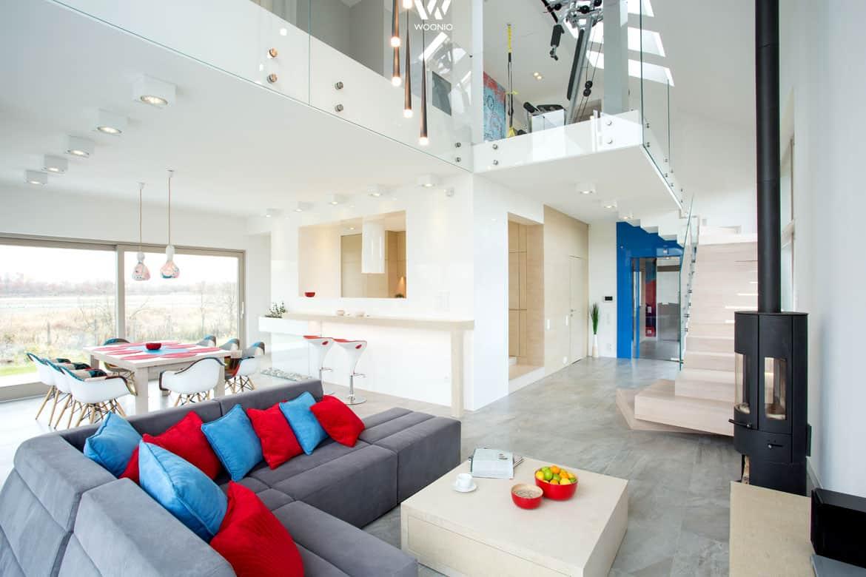 sehr modernes und doch auch gem tliches wohnzimmer wohnidee by woonio. Black Bedroom Furniture Sets. Home Design Ideas