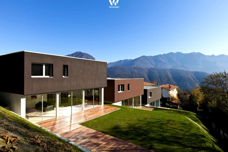 Top-Design-Häuser mit dem einzigartigen Blick - Wohnidee by WOONIO