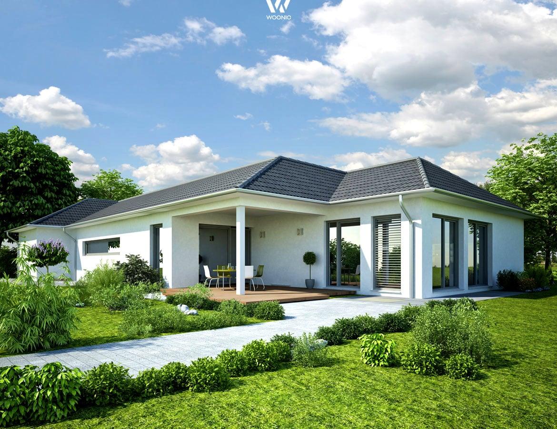 kleiner aber feiner bungalow ohne viel schnickschnack wohnidee by woonio. Black Bedroom Furniture Sets. Home Design Ideas