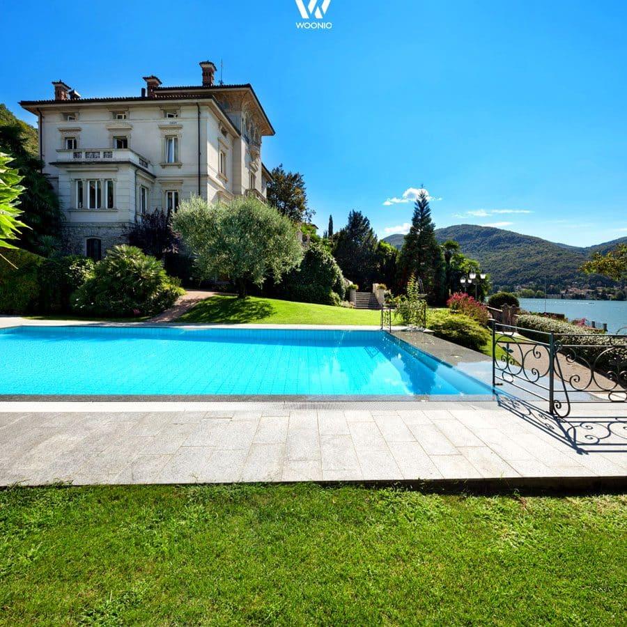Die herrschaftliche Villa mit Blick auf den See - Wohnidee by WOONIO
