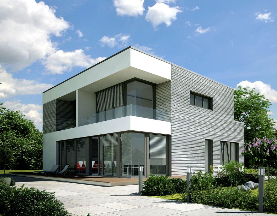 Interieur Mit Holz Lamellen Haus Design Bilder