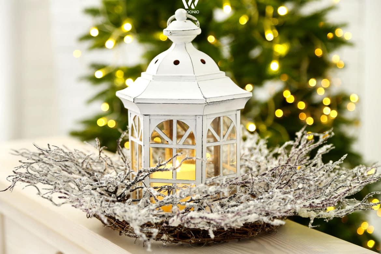 balkon weihnachten idee