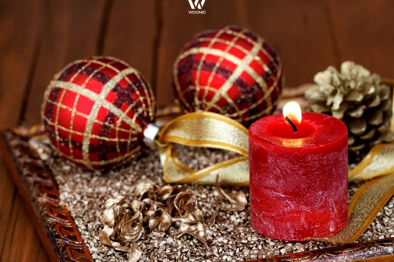 Weniger ist manchmal mehr bei der Dekoration zu Weihnachten ...