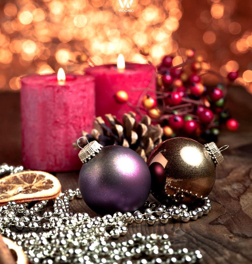 glanz und gl mmer bei der weihnachtsdeko wohnidee by woonio. Black Bedroom Furniture Sets. Home Design Ideas