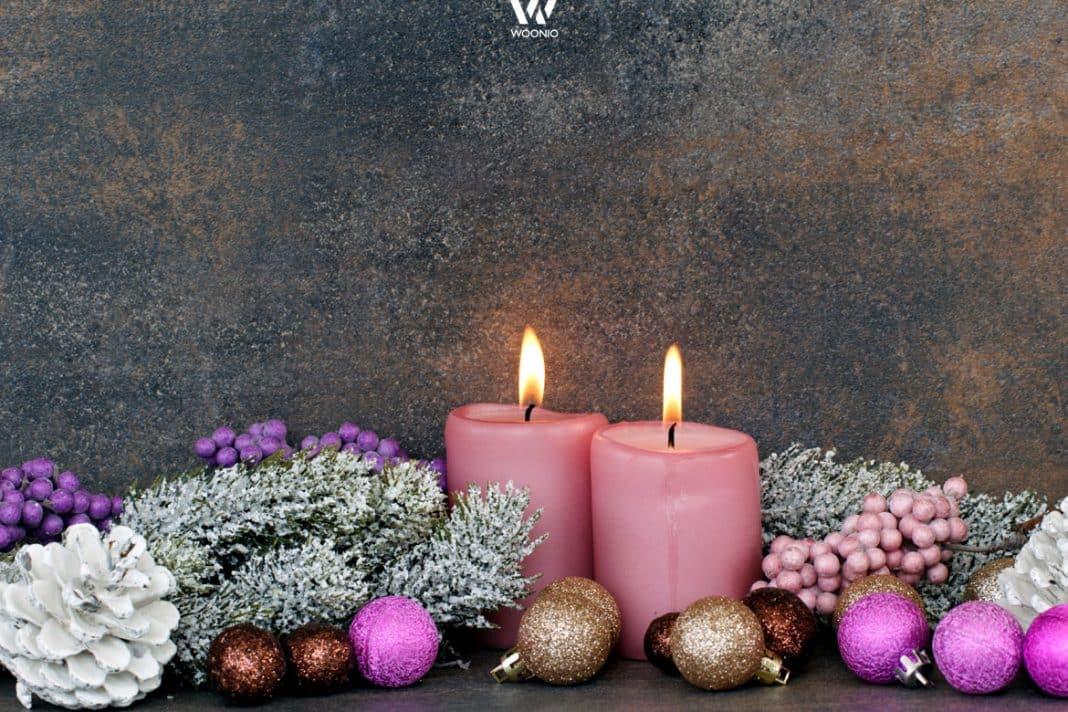 farblich abgestimmtes weihnachtsdeko set wohnidee by woonio. Black Bedroom Furniture Sets. Home Design Ideas