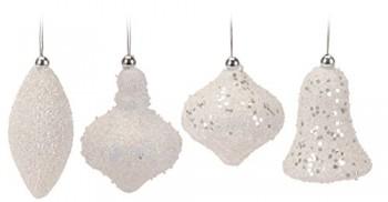 4er-Set-Weihnachtskugel-wei-Glitzer-8cm-aus-Styropor-Hngedeko-Bruchfest-4-Teilig-0