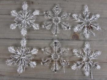 6-Schneeflocken-aus-Glas-zum-Hngen-Christbaumschmuck-0