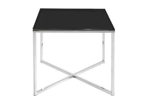 AC-Design-Furniture-0426862047-Beistelltischisch-Gurli-schwarzglas-5-mm-50-x-45-x-50-cm-Gestell-Metall-verchromt-0