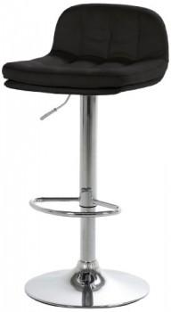 AC-Design-Furniture-43778-Barhocker-Arne-Kunstleder-schwarz-Gestell-und-Fusttze-Metall-verchromt-0