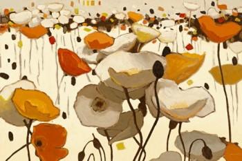 Acrylglasbild-Neutrality-von-Shirley-Novak-179-x-120cm-Motiv-bis-an-die-Kanten-Kunstdruck-Poster-Malerei-Blumen-Mohnblumen-Mohn-Blueten-Esszimmer-Wohnzimmer-Treppenhaus-Sch-hochwertige-Fertigung-Art-G-0