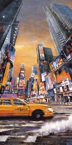 Acrylglasbild-Times-Square-Perspective-I-von-Matthew-Daniels-110-x-220cm-Motiv-bis-an-die-Kanten-Kunstdruck-Poster-hochwertige-Fertigung-Art-Galerie-Shop-0