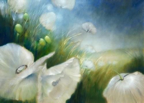 Acrylglasbild-Weier-Mohn-von-Annette-Schmucker-169-x-120cm-Motiv-bis-an-die-Kanten-Kunstdruck-Poster-hochwertige-Fertigung-Art-Galerie-Shop-0