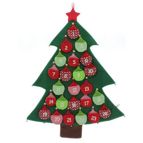 adventskalender tannenbaum mit gl ckchen weihnachten selbst bef llen f llen selber. Black Bedroom Furniture Sets. Home Design Ideas