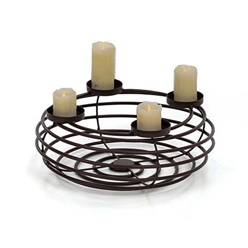 advent wreath candle holder metal 39 cm online kaufen. Black Bedroom Furniture Sets. Home Design Ideas