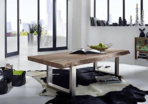 Akazie Massivholz Möbel Couchtisch 160x70 Massivmöbel Massiv Holz