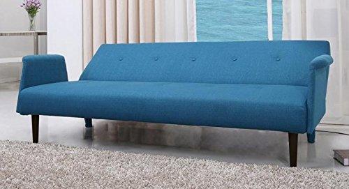 schlafsofa funktionssofa schlafcouch g stebett klappsofa bettsofa blau p01002 blu online kaufen. Black Bedroom Furniture Sets. Home Design Ideas