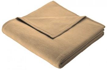 Biederlack-150-x-200-cm-Baumwolle-Home-Deckeberwurf-Camel-0