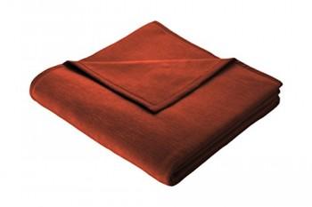 Biederlack-150-x-200-cm-Baumwolle-Home-Deckeberwurf-Fox-Rot-0